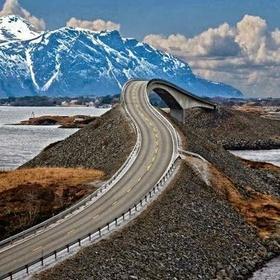 Atlantic Ocean Road, Norway - Bucket List Ideas