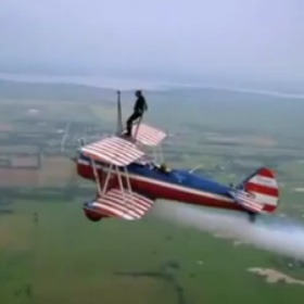 Stand on the wing plane - Bucket List Ideas
