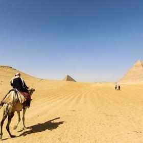 Ride a camel in the desert - Bucket List Ideas