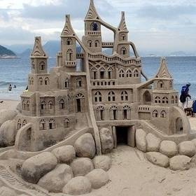 Build an AWESOME sand castle - Bucket List Ideas