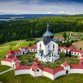 Visit poutní kostel sv. Jana Nepomuckého na Zelené hoře - Bucket List Ideas