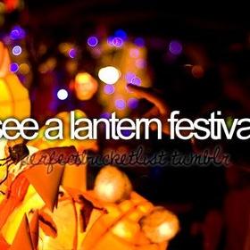 See a Lantern Festival - Bucket List Ideas