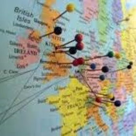 Be able to fill a world map with pins of where I've been - Bucket List Ideas