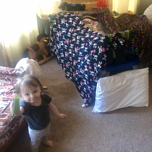 Build a Blanket Fort with my Kids - Bucket List Ideas