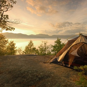Go camping! - Bucket List Ideas