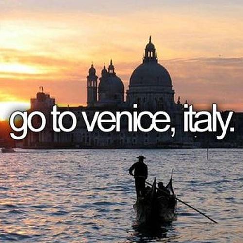 Visit Venice, Italy - Bucket List Ideas