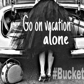 Go on a solo backpacking adventure - Bucket List Ideas