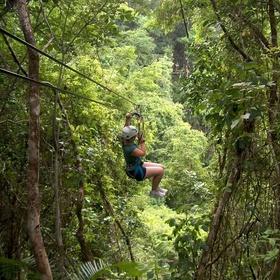Ride a zipline through the jungle - Bucket List Ideas