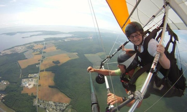 Hang gliding - Bucket List Ideas