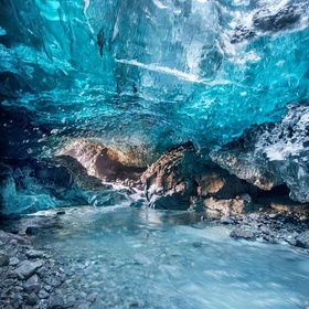 Explore an Ice Cave in Iceland - Bucket List Ideas