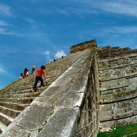 Climb the Steps of the Mayan Ruins - Bucket List Ideas