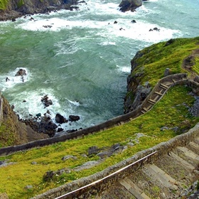 Walk the stairs of Gaztelugatxe Or off the coast of Biscay, Spain, & ring the church bell three times to make a wish - Bucket List Ideas