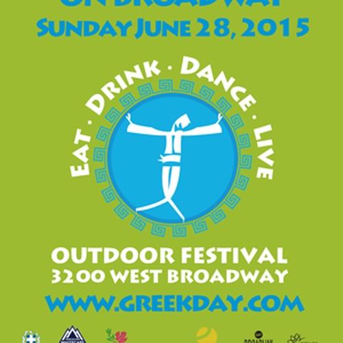 Go to Greek Day on Broadway - Bucket List Ideas