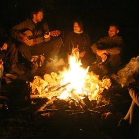 Play guitar around a campfire - Bucket List Ideas