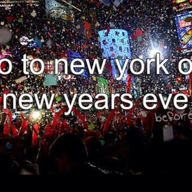 Spend new years eve in usa - Bucket List Ideas
