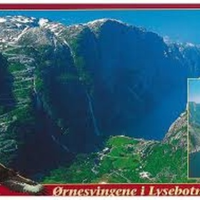 Ride Norway - Lysebotn 53 km. east of Stavanger, Norway. 145 km. ride from Stavanger - Bucket List Ideas