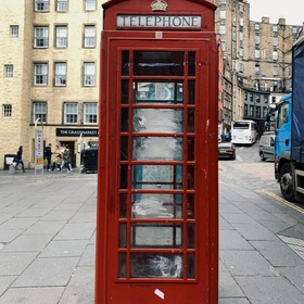 Stand in a Red Telephone Booth in London - Bucket List Ideas