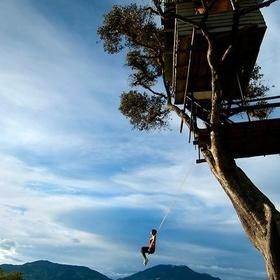 Swing on the Edge of the World in Ecuador - Bucket List Ideas
