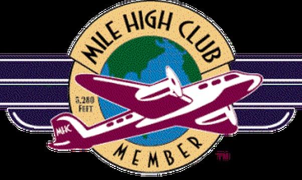 Join the Mile High Club - Bucket List Ideas