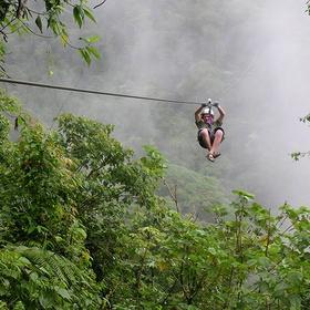 Go ziplining in the Rainforest - Bucket List Ideas