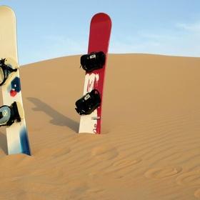 Sandboard the dunes in a desert - Bucket List Ideas