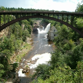 Explore Ausable Chasm, Grand Canyon of the Adirondacks in New York - Bucket List Ideas