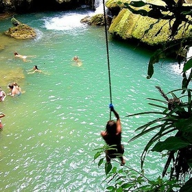 Swing from a rope into a lake - Bucket List Ideas