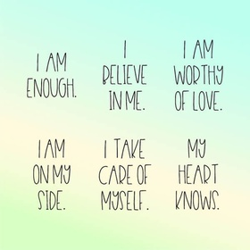 Listen to daily affirmations for at least a month - Bucket List Ideas
