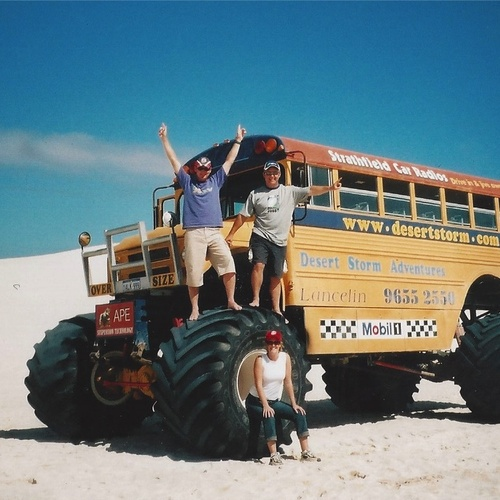 Try 55 different modes of tranport - Bucket List Ideas
