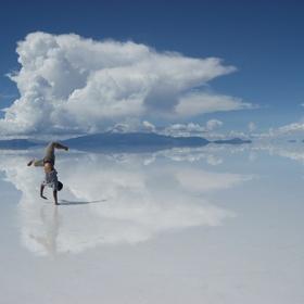 See the salt desert, Bolivia - Bucket List Ideas