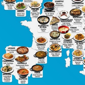 Cook a meal from all 197 countries - Bucket List Ideas
