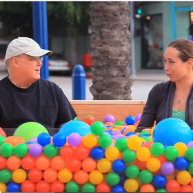Make a Ball Pit for people to meet strangers - Bucket List Ideas