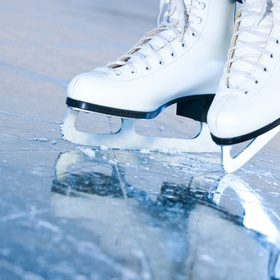 Ice Skate and try not to fall - Bucket List Ideas
