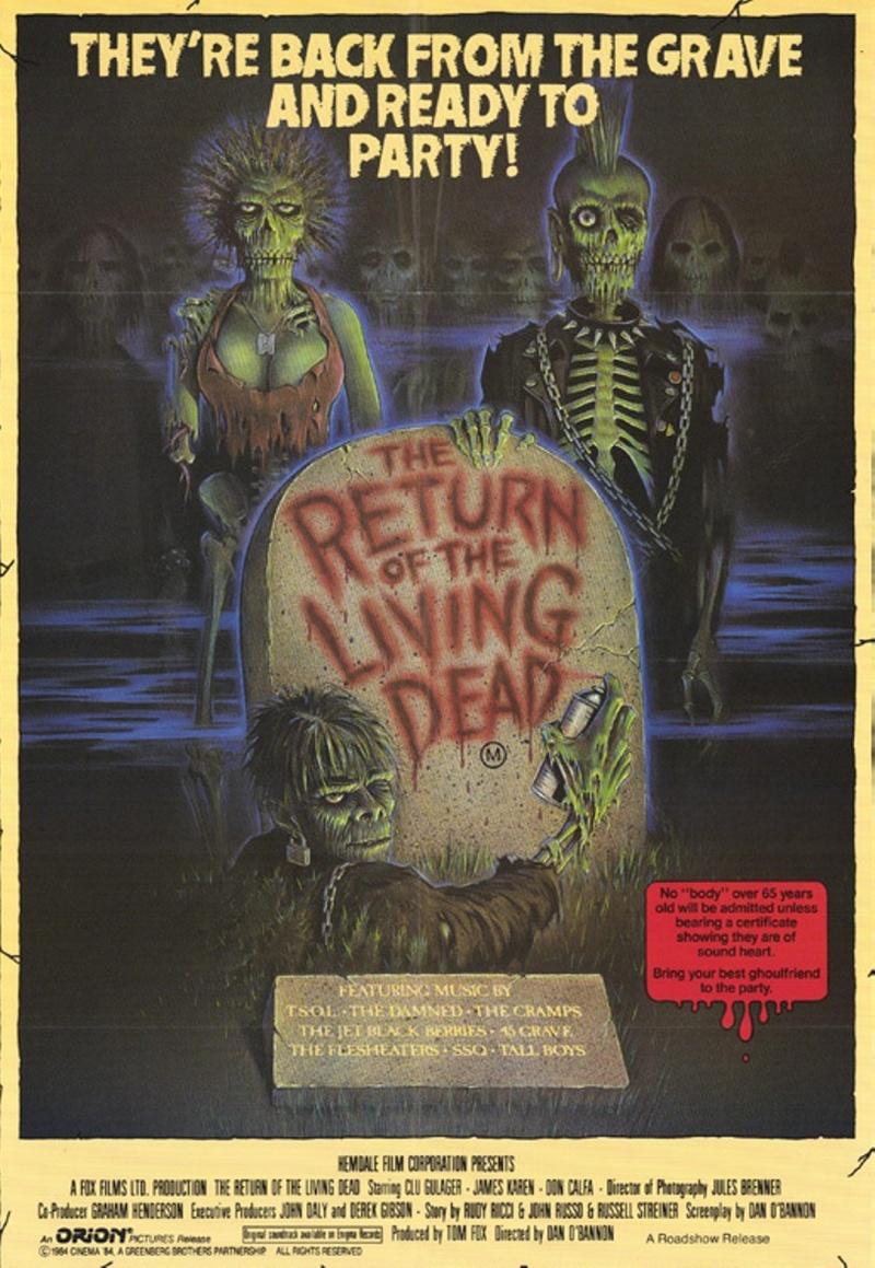Bucketlist » Watch Top 20 Horror Films of the 80s (ZombieGirl)