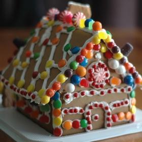 Build a gingerbread house from scratch - Bucket List Ideas