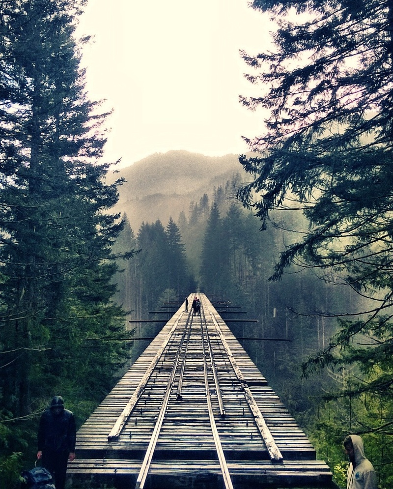 Bucketlist » Hike over abandoned train tracks Vance Creek