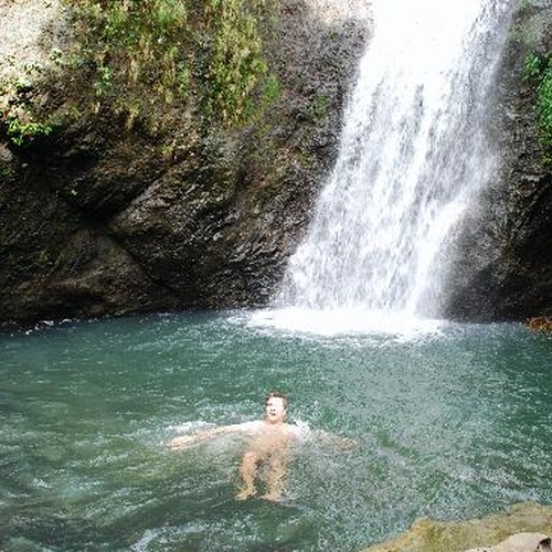 Swim under a waterfall - Bucket List Ideas