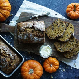 Autumn - Bake Pumpkin Bread & Roast Pumpkin Seeds - Bucket List Ideas