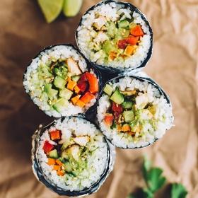 Try sushi burrito - Bucket List Ideas