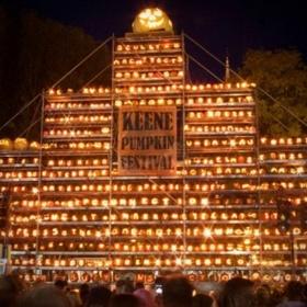 Add your pumpkin to the wall at the Keene Pumpkin Festival, New Hampshire - Bucket List Ideas