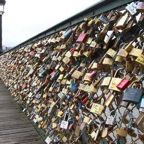 Add to the Love Lock Bridge, Paris - Bucket List Ideas