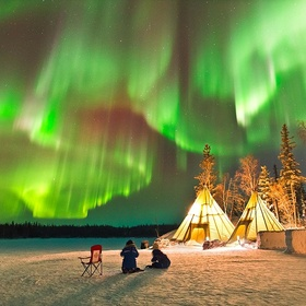 Northern Lights (Aurora Borealis) - See them for the 2nd time - Bucket List Ideas