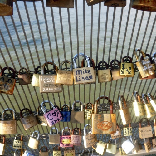 Love Lock Bridge Paris France - Bucket List Ideas