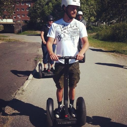 Ride a segway - Bucket List Ideas