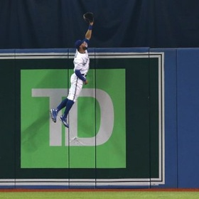 See Kevin Pillar (Superman) make an amazing catch in person - Bucket List Ideas