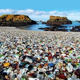 Visit Glass Beach at Fort Bragg - Bucket List Ideas