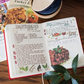 Make a recipe book of family secrets and my favorites - Bucket List Ideas