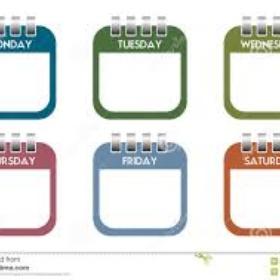 Complete seven things off my list in a week - Bucket List Ideas