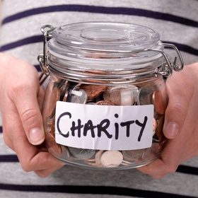 Give $10000 to charity anonymously - Bucket List Ideas