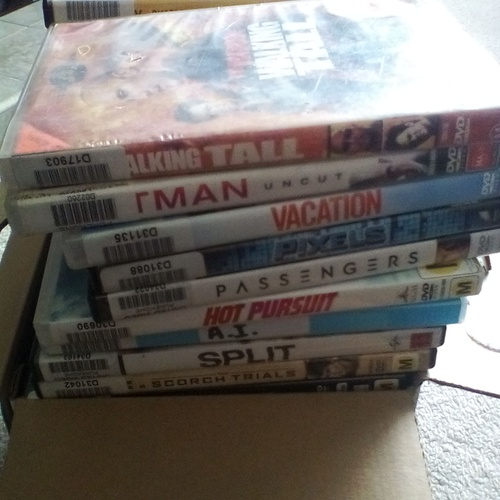 Get my dvd-blue ray collection up to 1000 - Bucket List Ideas